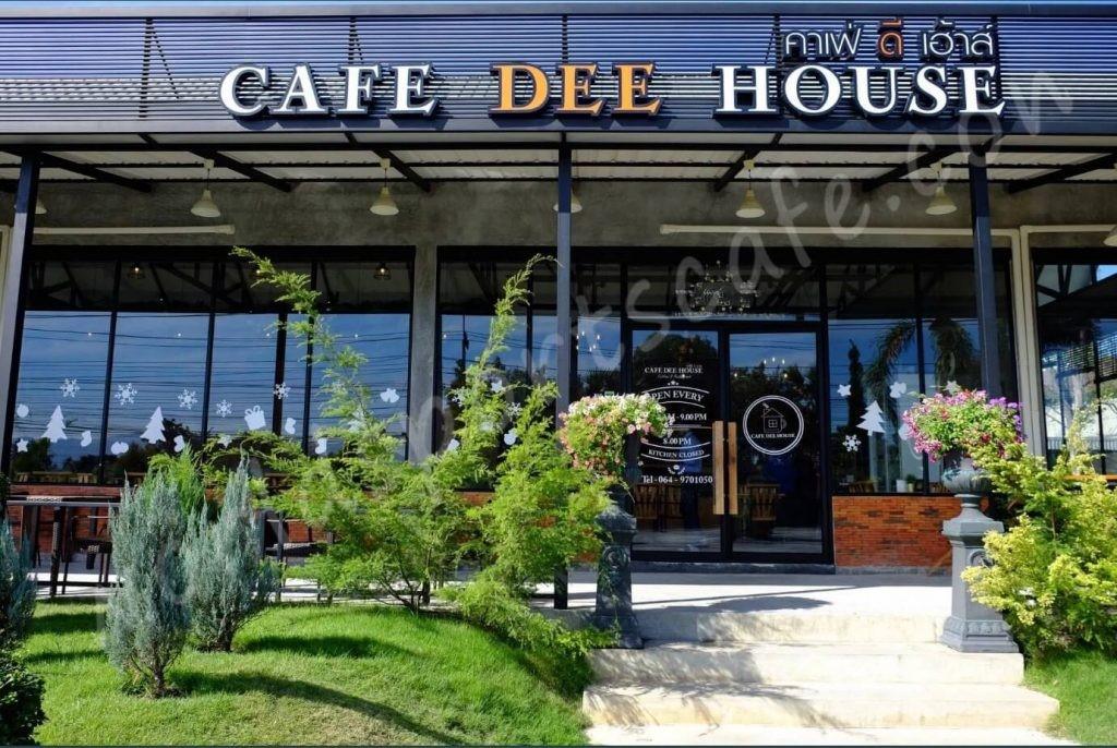 Café Dee House ร้านอร่อยในบางแสน
