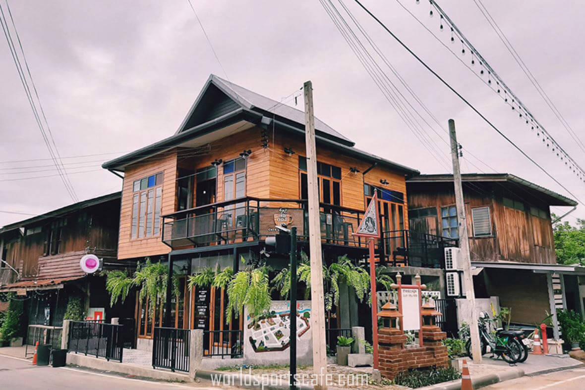 Cafe' de PhraeRis  เลอกองเก่า  เมืองแพร่เจ้า…