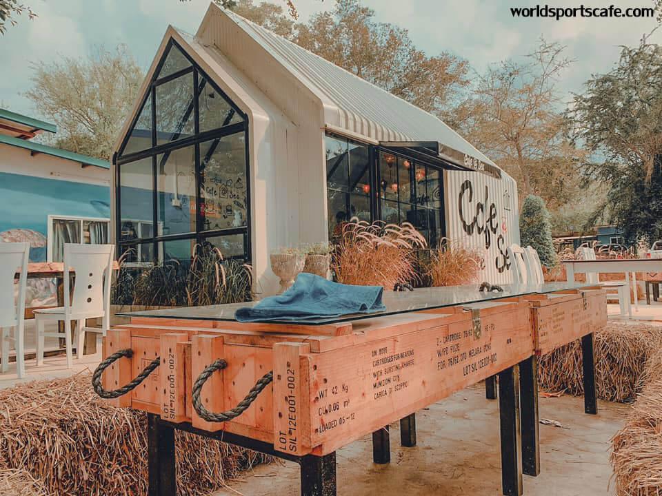 Cafe@Sea คาเฟ่ชิลหาดสอ