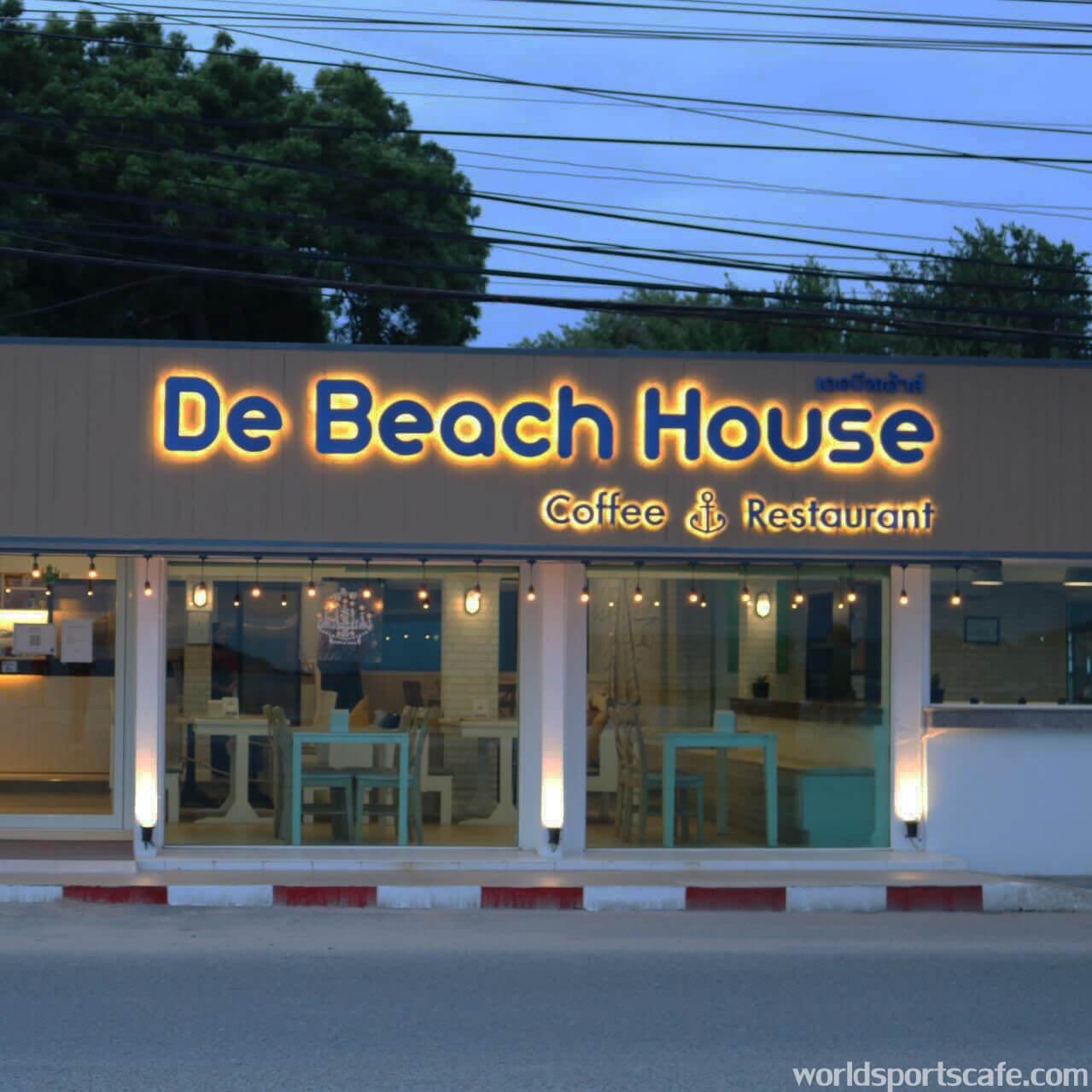De Beach House คาเฟ่ริมทะเล ที่สัตหีบ