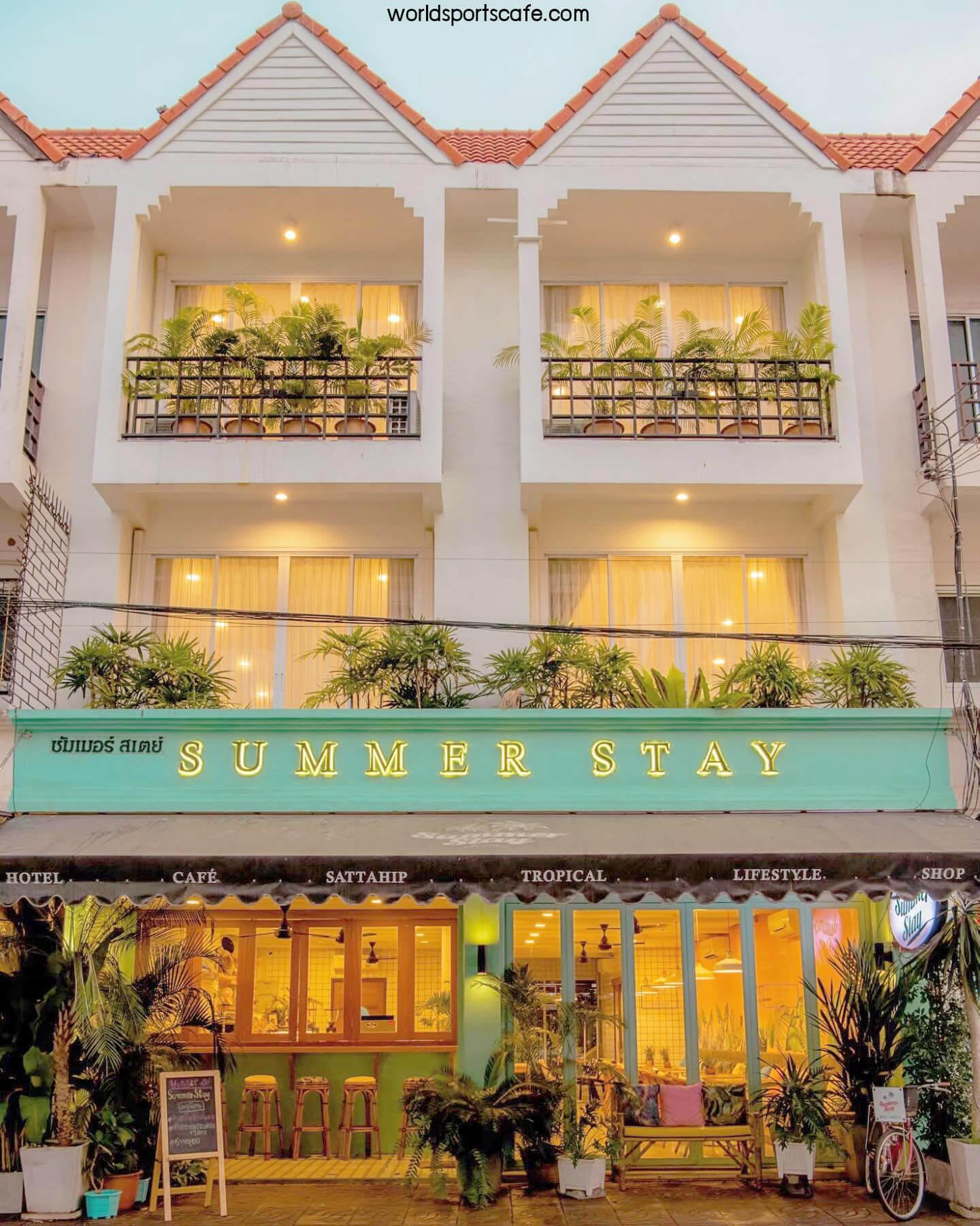 Summer Stay Sattahip คาเฟ่สไตล์ทรอปิคอล