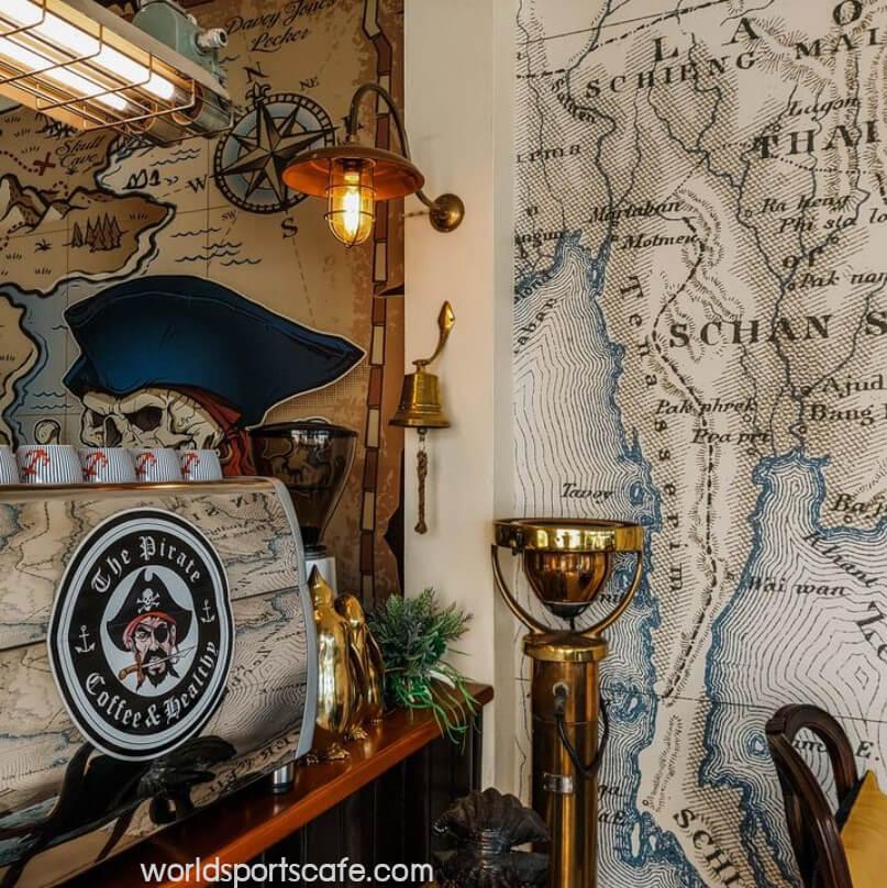 The Pirate Coffee & Healthy คาเฟ่โจรสลัด