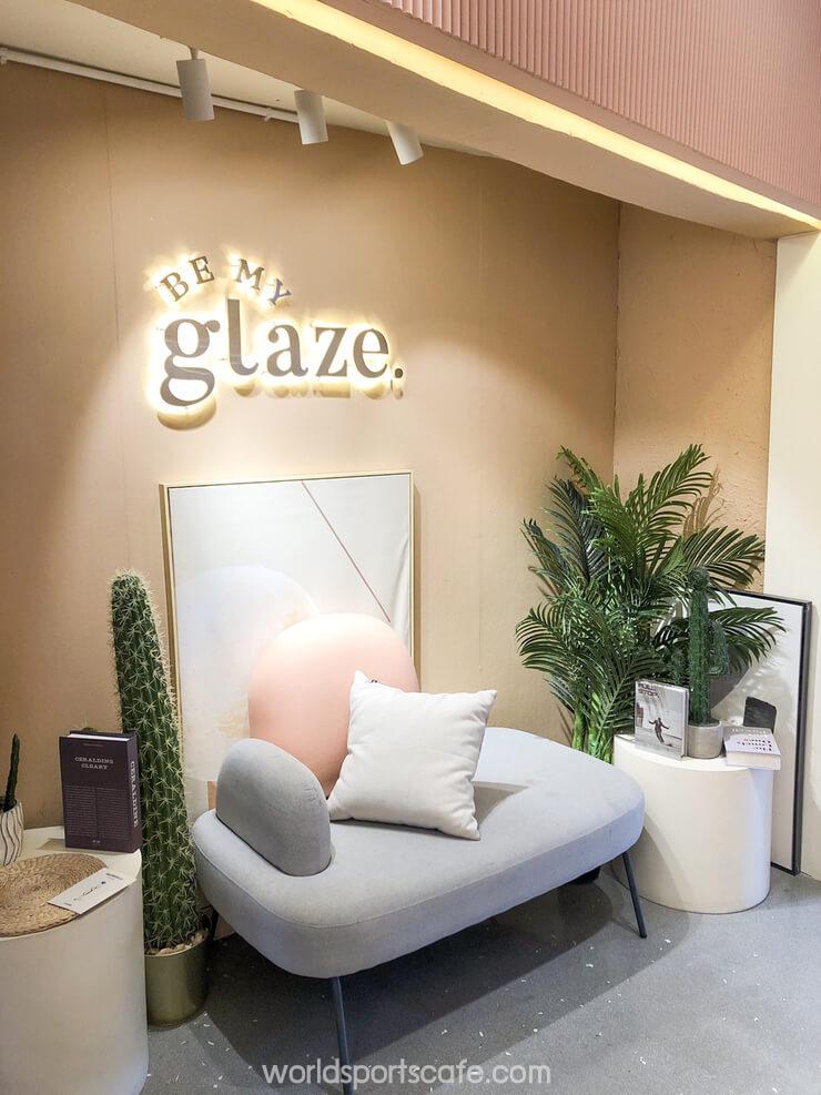 Be my glaze ร้านคาเฟ่แห่งนี้เป็นร้านสไตล์มินิมอล