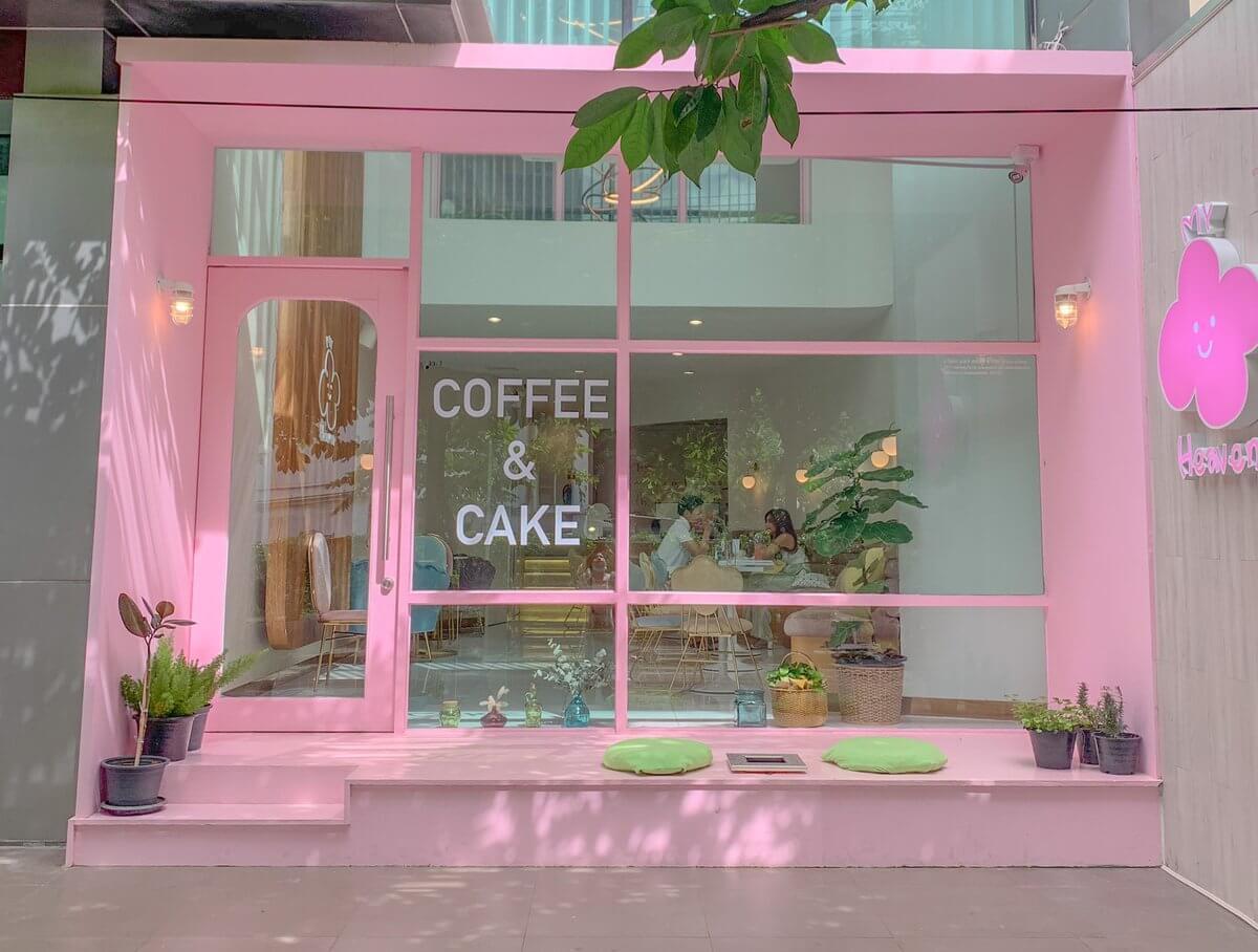 My Heaven coffee การถ่ายรูปโทนหวาน