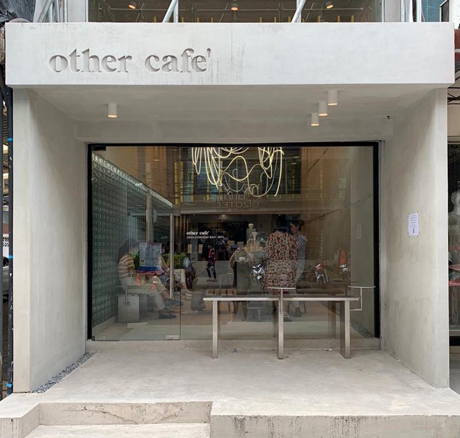 Other café เปิดใหม่ ในซอยรางน้ำ